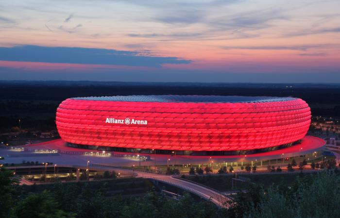 Allianz Arena<br>Flutlichtbühnen