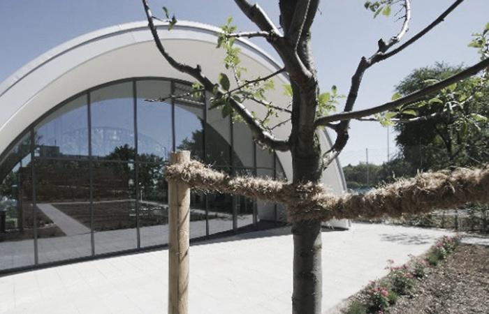 Sozialpavillon Petuelpark